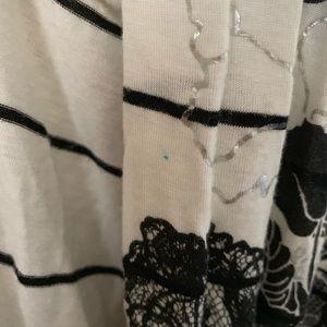 Sweaters - 🤑$8 FINAL PRICE🤑JL White/black  cardigan size S